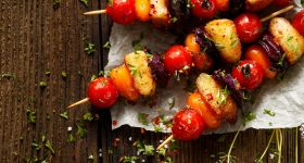 summer grilling - grilled veggies - grillied vegetables - grilled fruit - grilled peaches - grilled avocados - grilled corn - grilled melon - BBQ - outdoors - outdoor cooking - camping - cookout - summer - summertime - stone fruit