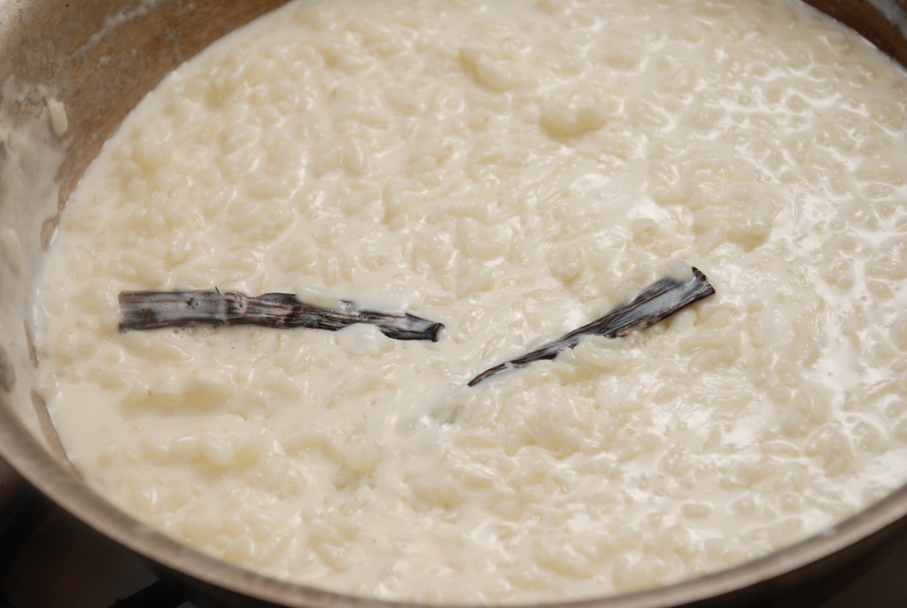 Orange-Scented Vanilla Bean Rice Pudding