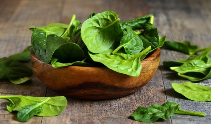 benefits of spinach - spinach helps eyesight -