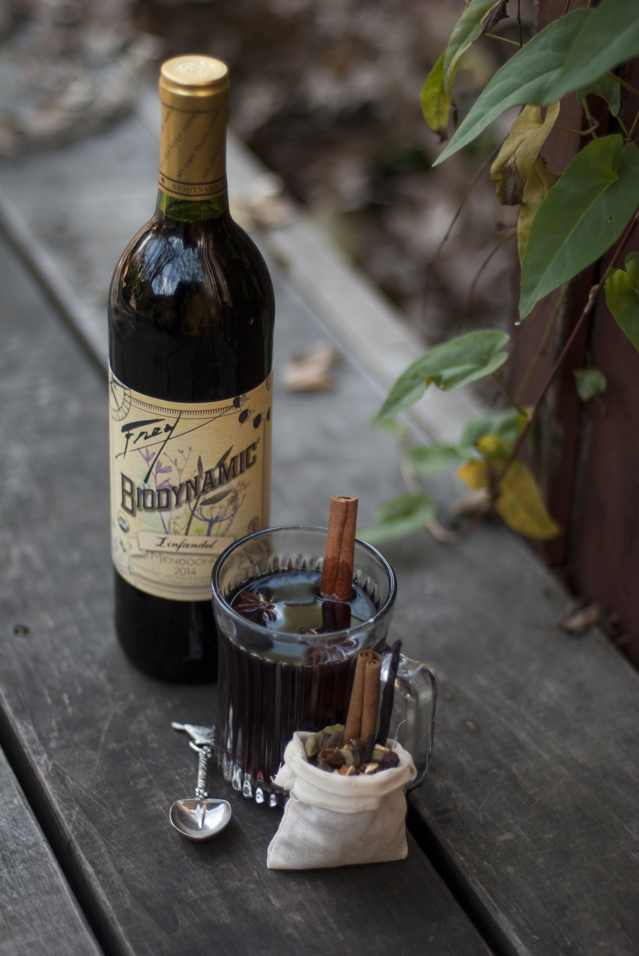 mulled wine recipe - mulled wine - wine - organic wine - biodynamic - biodynamic wine - frey vineyards - frey wine - red wine - holiday beverages - beverages