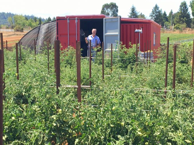 off-grid ecosystems - farm from a box, sustainable farming