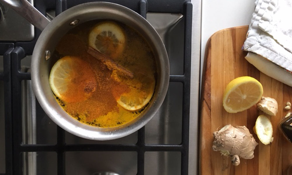 cold and flu tonic recipe - holistic health - health and wellness - recipe - ginger - lemon - an organic conversation - green living - green media - inspiration - education - Helge Hellberg - holistic remedies - naturopathic - home remedies - cold and flu - cold season
